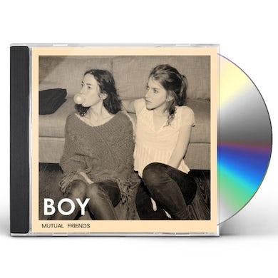 Boy MUTUAL FRIENDS CD