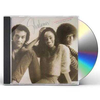 Shalamar THREE FOR LOVE CD