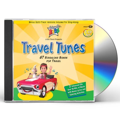 Cedarmont Kids Travel Tunes CD