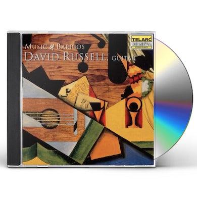 David Russell MUSIC OF BARRIOS CD