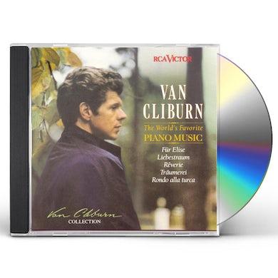 Van Cliburn WORLD'S FAVORITE PIANO CD
