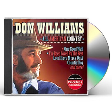 Don Williams ALL AMERICAN COUNTRY CD