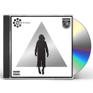 Clipping SPLENDOR & MISERY CD