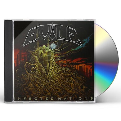 Evile INFECTED NATIONS CD