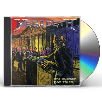 Megadeth SYSTEM HAS FAILED (2019 REMASTER) CD