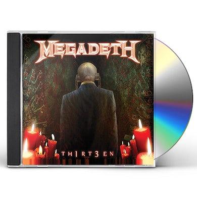 Megadeth TH1RT3EN (2019 REISSUE) CD