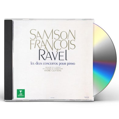 Samson Francois RAVEL: PIANO CONCERITOS CD