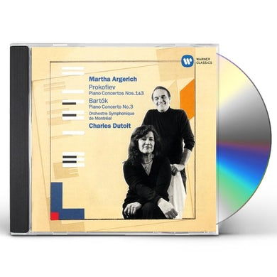 Martha Argerich PROKOFIEV & BARTOK: PIANO CONCERTOS CD