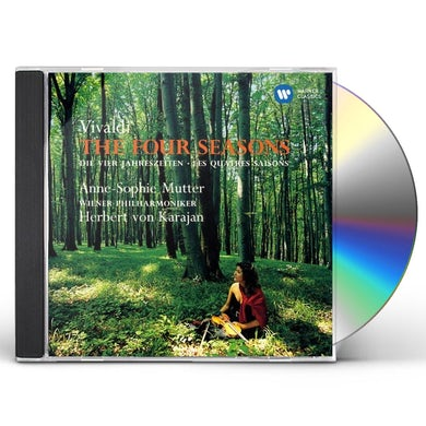 Anne-Sophie Mutter VIVALDI-THE FOUR SEASONS CD