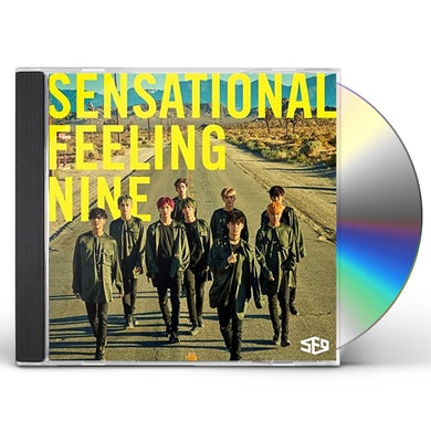 SF9 SENSATIONAL FEELING NINE CD