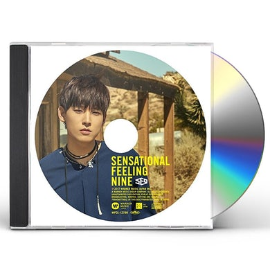 SENSATIONAL FEELING NINE: IN SEONG VERSION CD