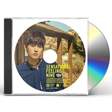 SF9 SENSATIONAL FEELING NINE: IN SEONG VERSION CD