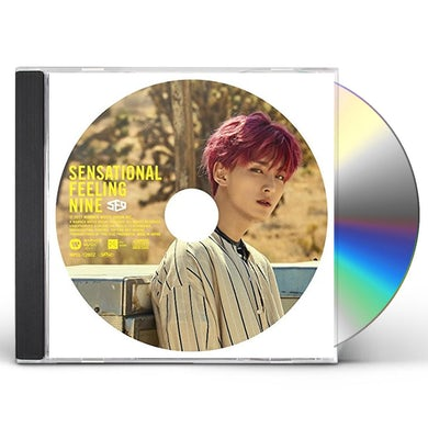 SF9 SENSATIONAL FEELING NINE: ZU HO VERSION CD