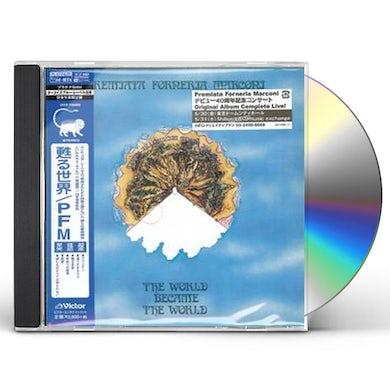 Premiata Forneria Marconi WORLD BECAME THE WORLD CD