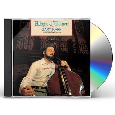 Gary Karr ALBINONI ADAGIO CD