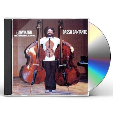 Gary Karr ARPEGGIONE SONATA ETC CD