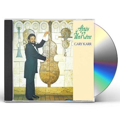 Gary Karr APRES UN REVE CD