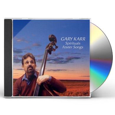 Gary Karr SPRITUALS FOSTER SONGS CD