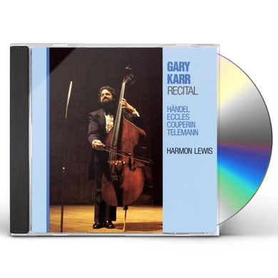 Gary Karr RECITAL: HANDEL / ECCLES / COUPERIN CD
