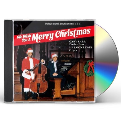 Gary Karr WE WISH YOU A MERRY CHRISTMAS CD