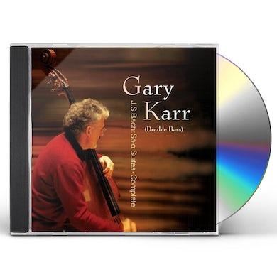 Gary Karr 6 CELLO SUITES CD