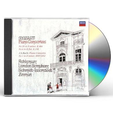 Vladimir Ashkenazy MOZART & BACH: PIANO CONCERTOS CD