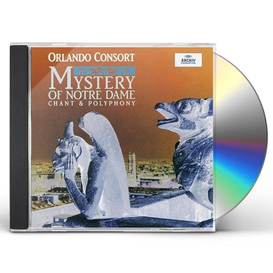 Orlando Consort MYSTERY OF NOTRE DAME CD