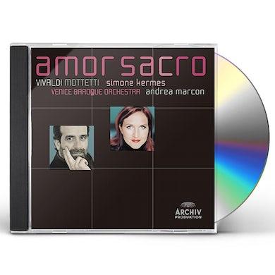 Simone Kermes AMOR SACRO / VIVALDI: MOTTETTI CD