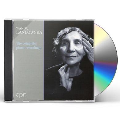 Wanda Landowska COMP PNO RECORDINGS CD