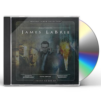 ORIGINAL ALBUM COLLECTION-DISCOVERING JAMES LABRIE CD