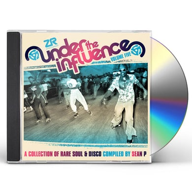 Sean P UNDER THE INFLUENCE 5: COLLECTION OF RARE SOUL CD