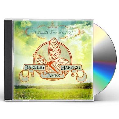 BEST OF BARCLAY JAMES HARVEST CD