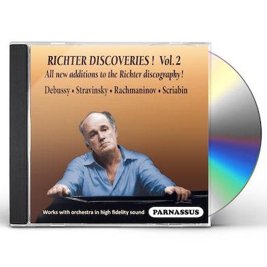 Sviatoslav Richter RICHTER DISCOVERIES VOLUME 2 CD