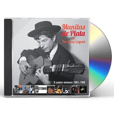 Manitas De Plata GYPSY LEGEND CD