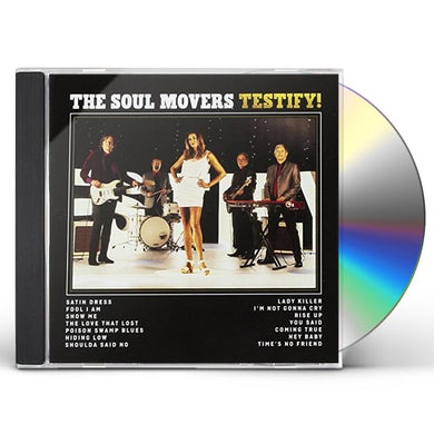Soul Movers TESTIFY CD