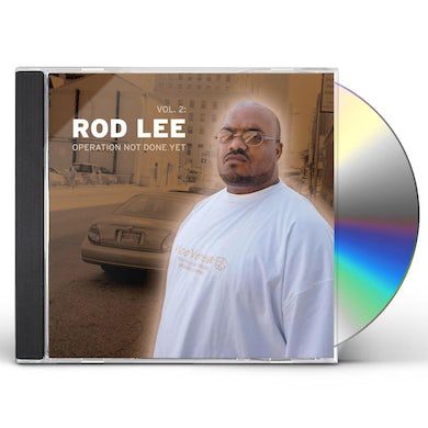 Rod Lee OPERATION NOT DONE YET 2 CD