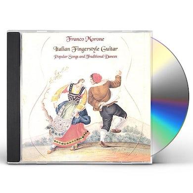 Franco Morone ITALIAN FINGERSTYLE GUITAR CD