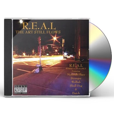 real ART STILL FLOWS CD