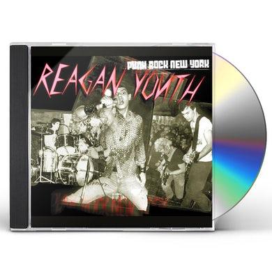 Reagan Youth PUNK ROCK NEW YORK CD