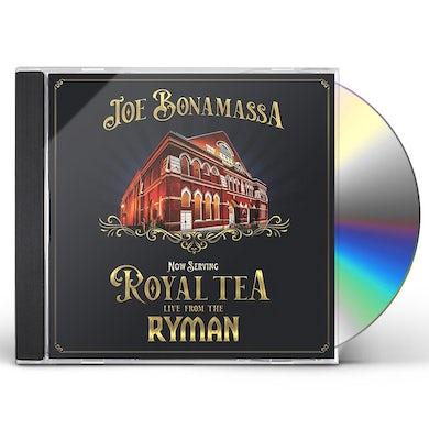 Joe Bonamassa Now Serving: Royal Tea: Live From The Ryman CD