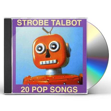 Strobe Talbot 20 POP SONGS CD