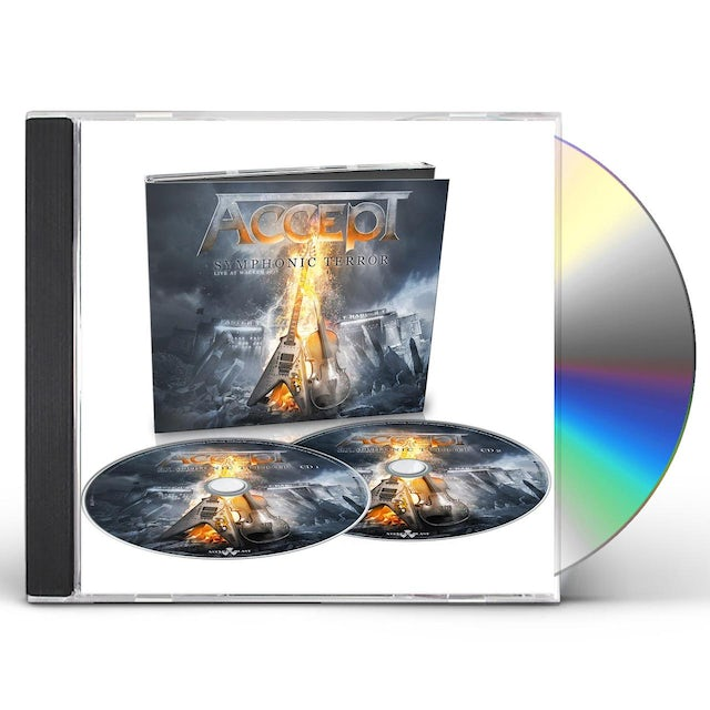 Accept SYMPHONIC TERROR: LIVE AT WACKEN 2017 CD