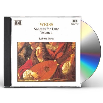 Weiss SONATAS FOR LUTE 1 CD