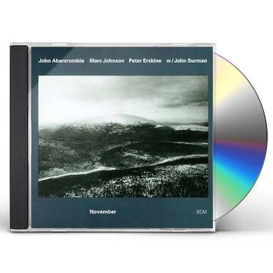 John Abercrombie NOVEMBER CD