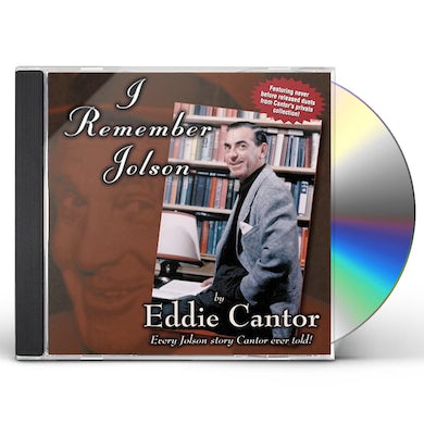 Eddie Cantor I REMEMBER JOLSON CD