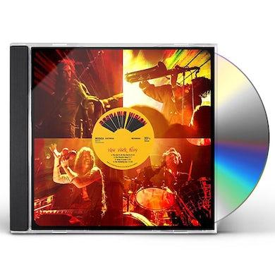 ECSTATIC VISION RAW ROCK FURY CD