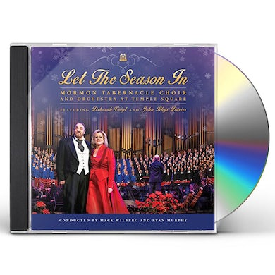 Mormon Tabernacle Choir LET THE SEASON IN CD