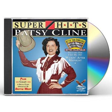Patsy Cline SUPER HITS CD