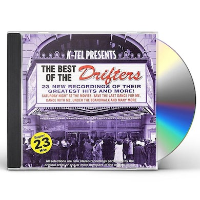 BEST OF THE DRIFTERS / VARIOUS CD