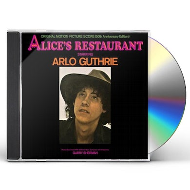 Arlo Guthrie ALICE'S RESTAURANT: ORIGINAL MGM MOTION PICTURE CD